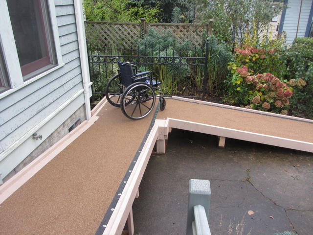 ramp with chair