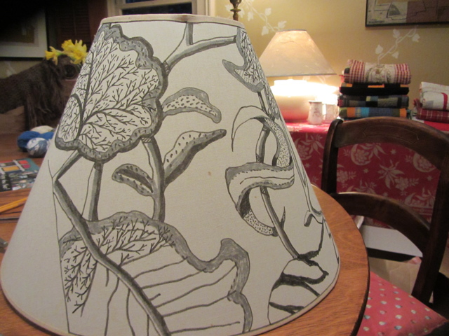 Drawing As Lampshade Revival On The Way