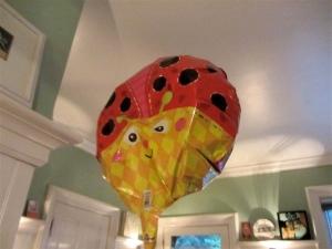 sagging balloon