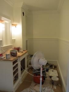 bathroom with fan