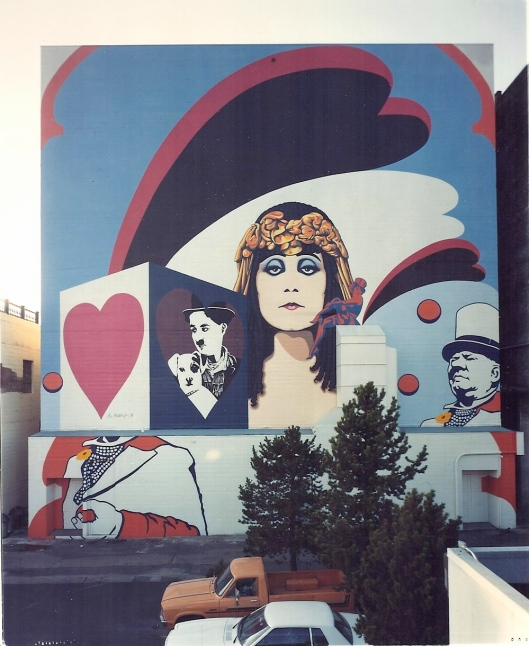 The Mural when fresh