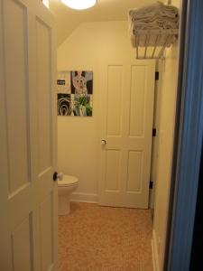 bathroom doors after