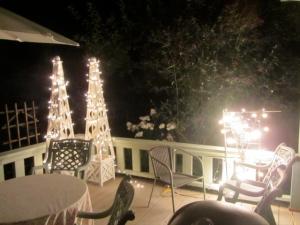 deck:evening