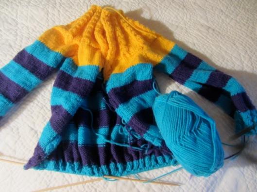 Sid's sweater