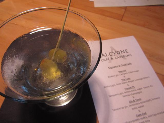 Alcyone martini