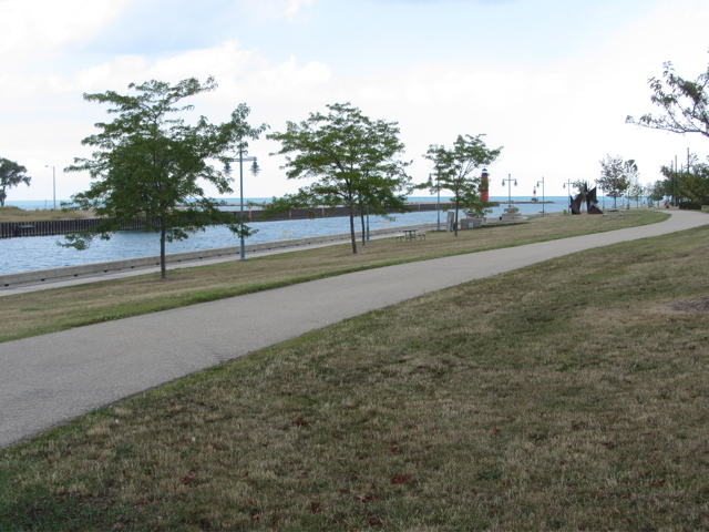 Kenosha park and lighthouse