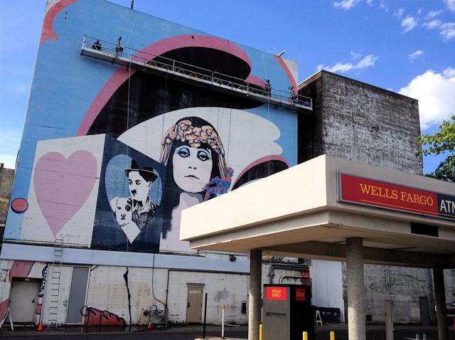 mural R view