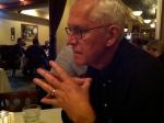 R at dinner