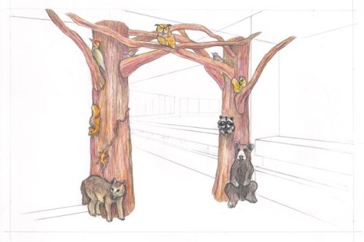 preliminary drawing 2 mezzanine