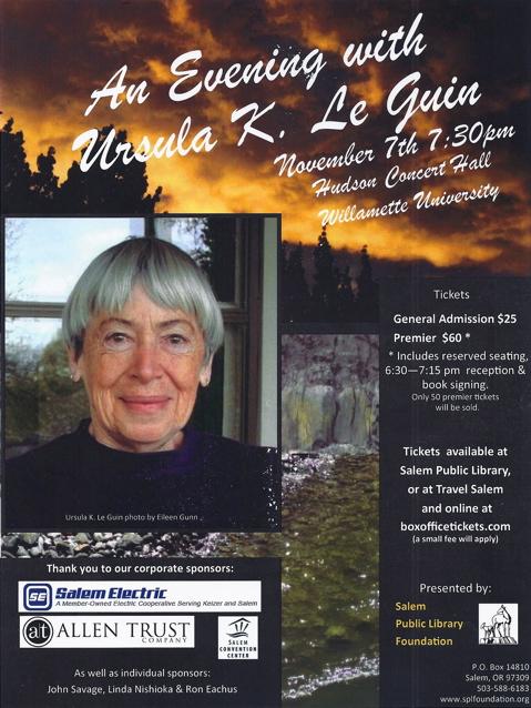 Ursula Leguin Poster
