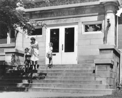 Wilmette, Illinois Carnegie Library 1950