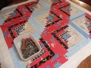 Baby showr quilt