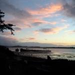 bay sky sunset