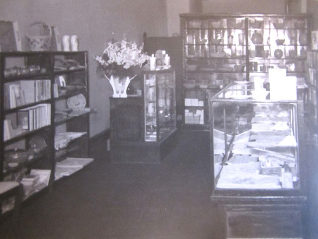 book shop left