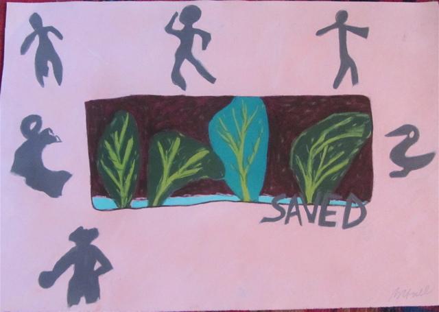 """Saved"""