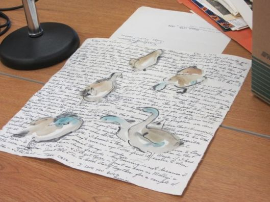 Goose letter
