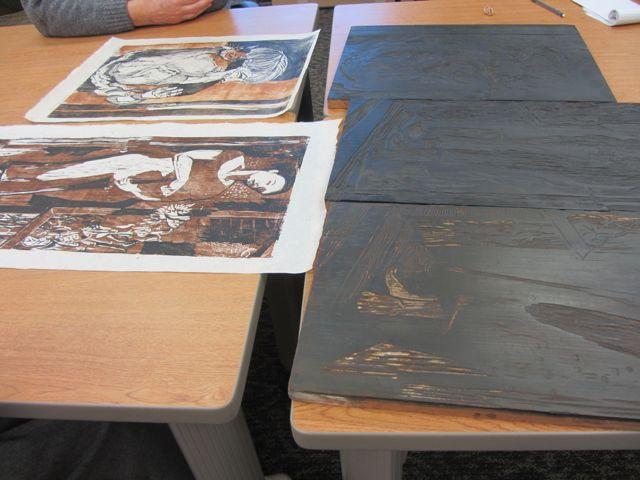 Prints and blocks