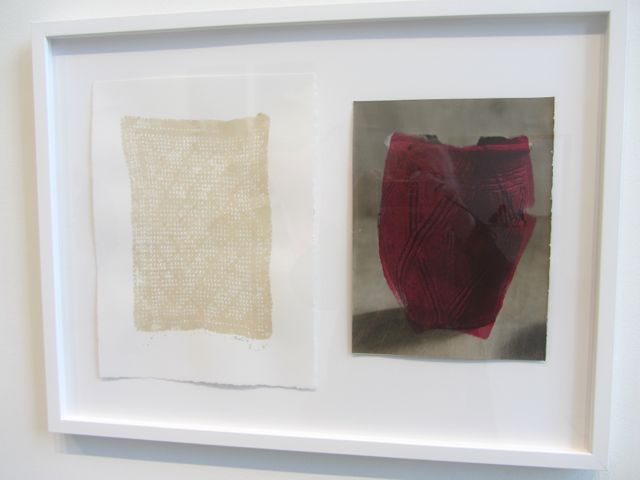 """Red Vessel and Linen"""