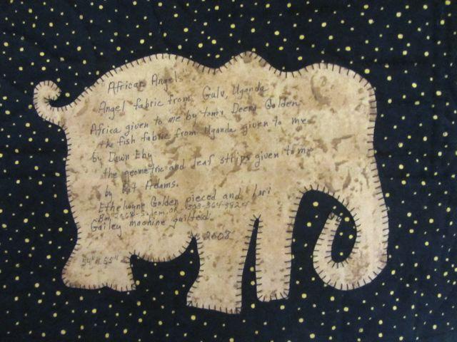 elephant label