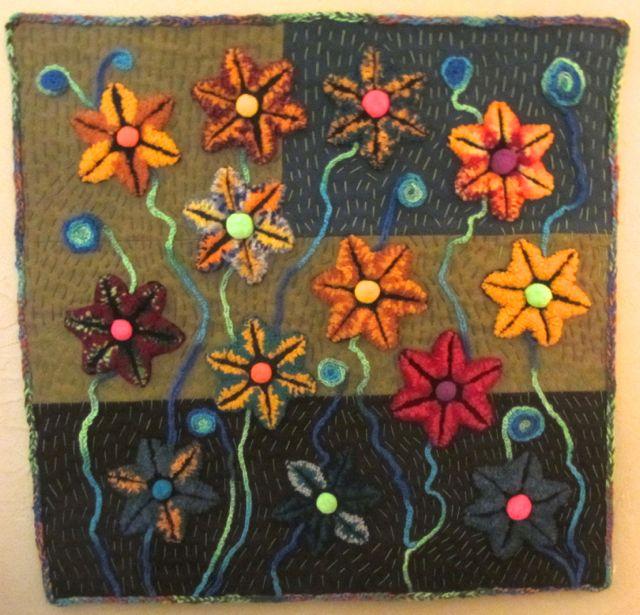 Bill's first quilt