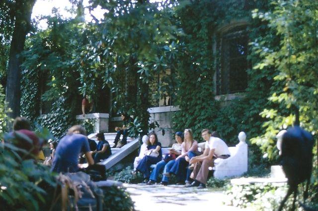 Guggenheim garden