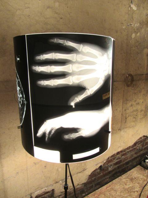 Zeek lamp detail
