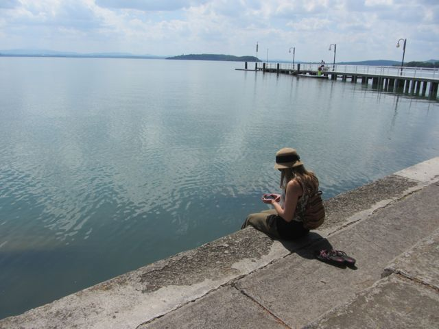 Fan at Trasimeno