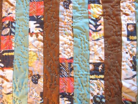 May Quilt detail