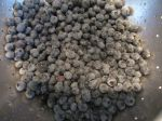 real blueberries