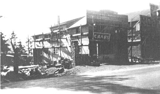 building of the Crab pot