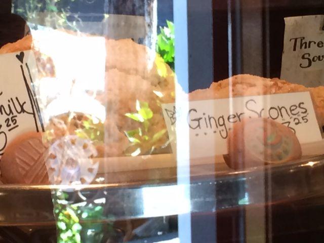 ginger scones