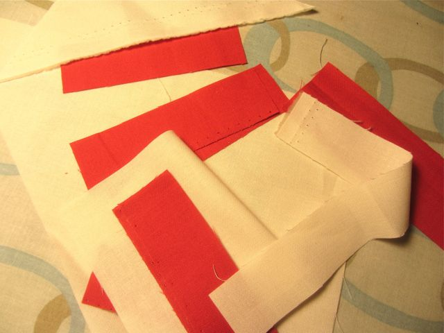 Moda Building Blocks Christmas Fabric