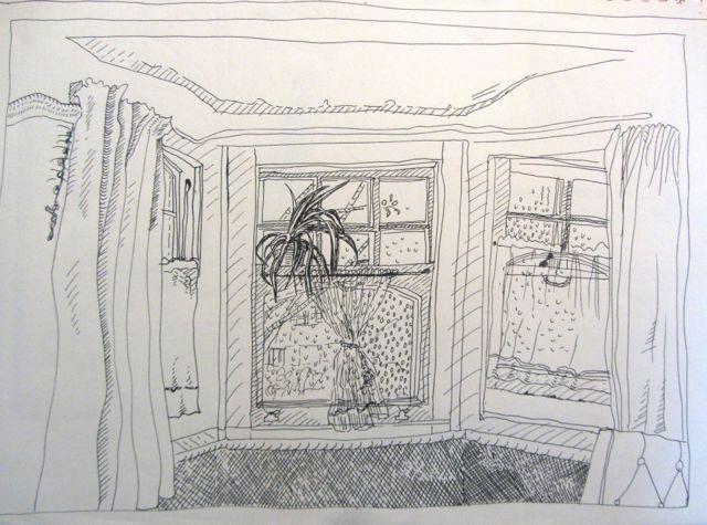 bedroom window Muswell Hill