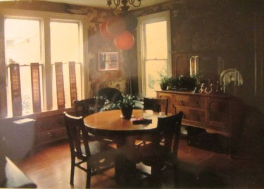 dining room 1982