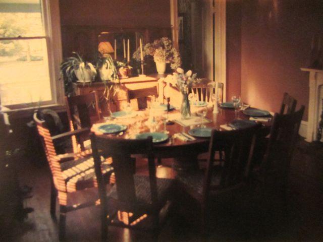 dining room 1984