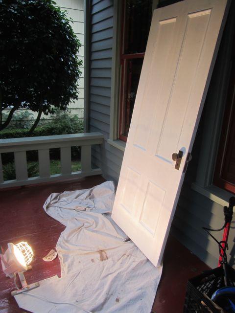 dining room door as a movie star