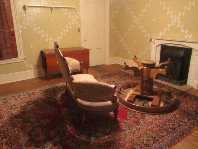 dining room last night