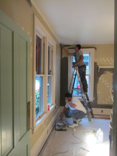 dining room still cutting