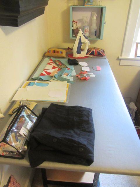 ironing station