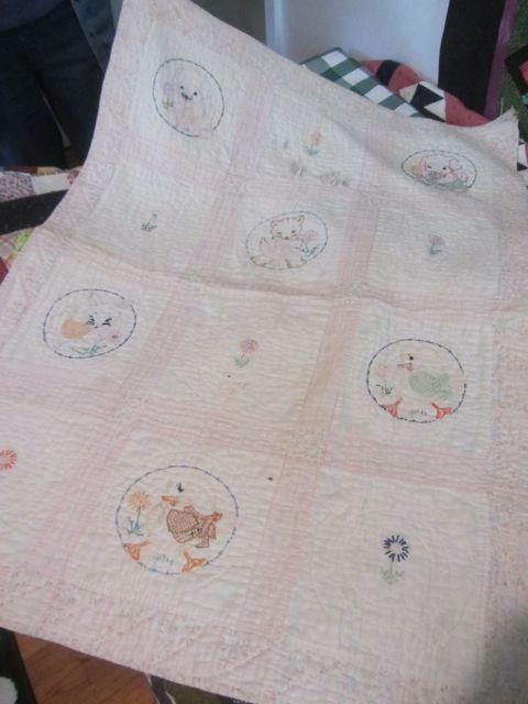 QG Lynda's own baby quilt