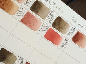 Denise's color chart