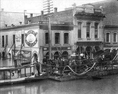 Hallock in 1894