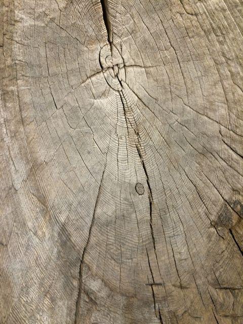 Yakima canoe detail