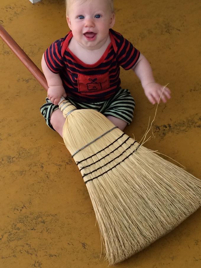 Broom guy