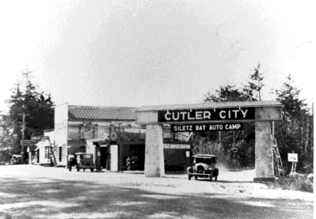 Cutler City arch