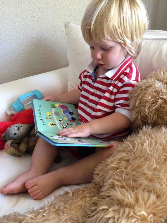 Sidney Reads to Ted