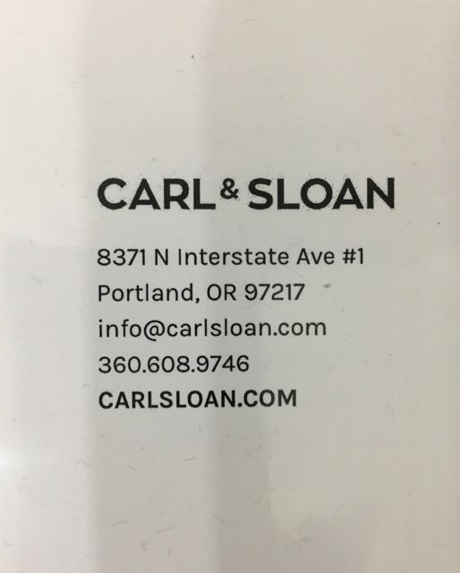 Carl & Sloan