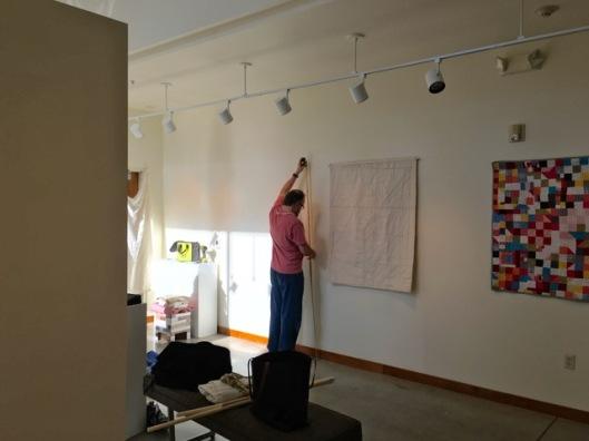 Tim hanging