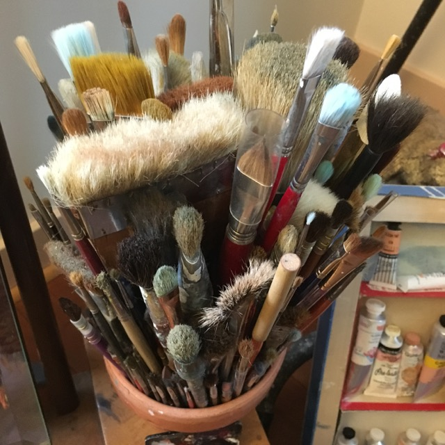 Julie Green's brushes