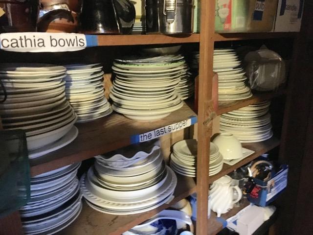 plates ready to go